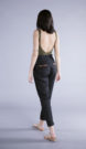Jane High-wasted Trousers in Linen