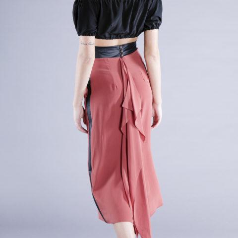 blanca skirt silk