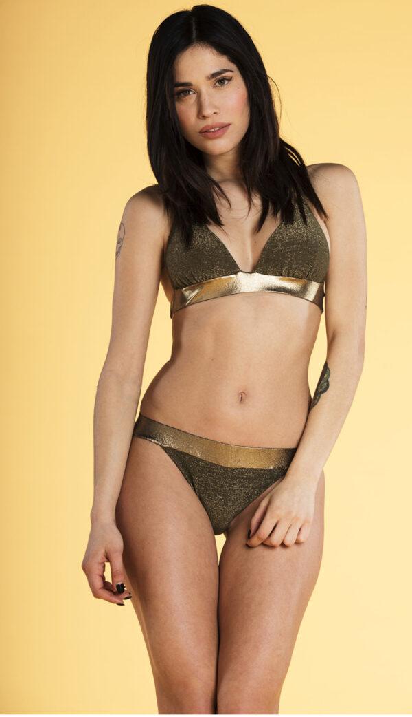 Wild Thyme Bikini Gold