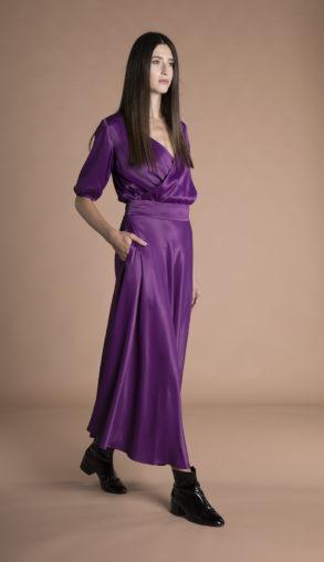 Gina Skirt Violet
