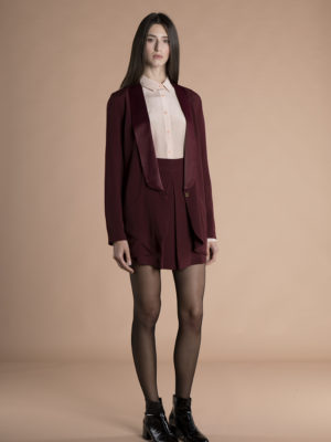 Savana Jacket Burgundy