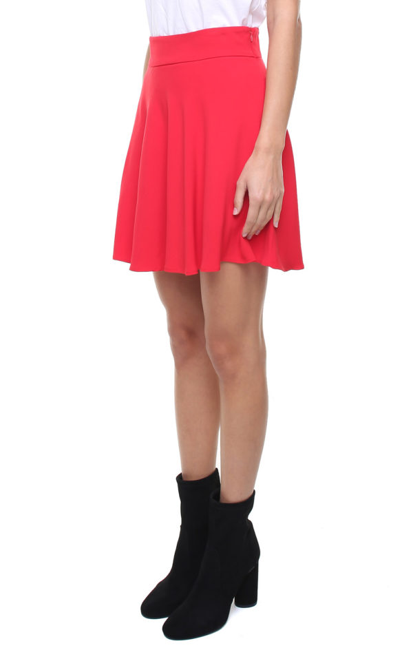 Gigi Skirt Red