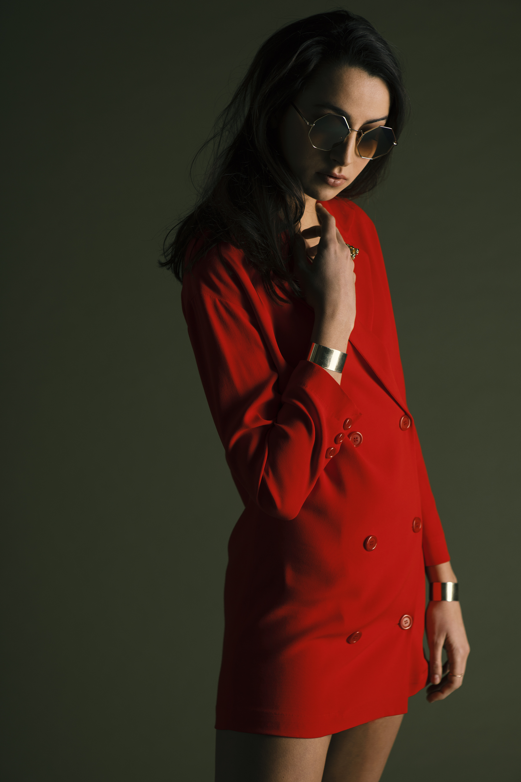 Maika Dress Jacket red