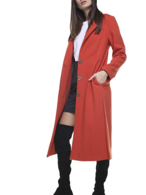 Corinne Long Blazer Orange