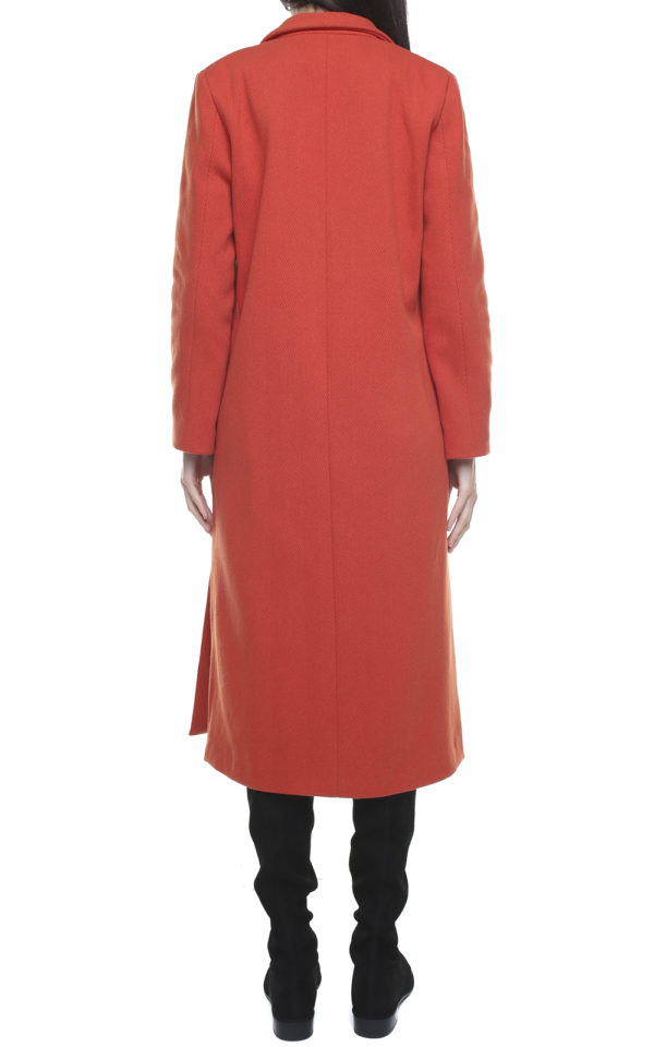 Corinne Long Blazer Orange