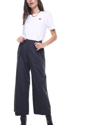 Isabel Pants pinstriped blue