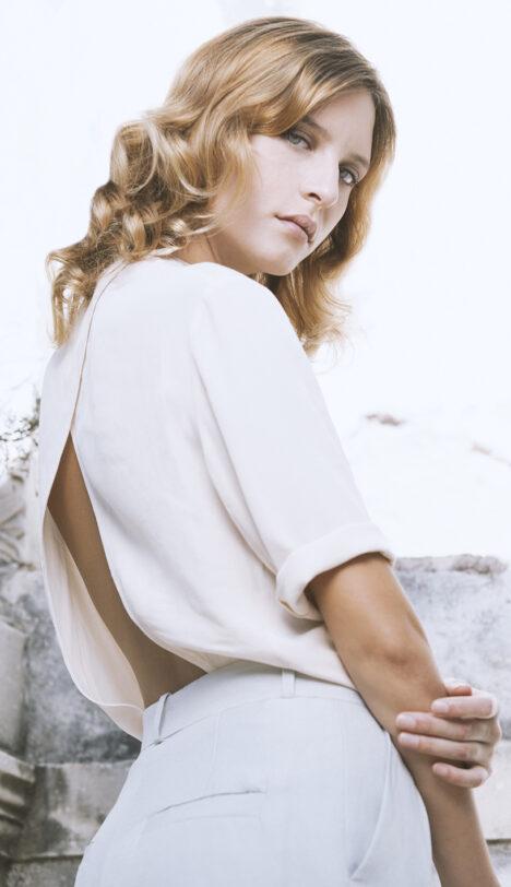 Grace bodysuit in viscose
