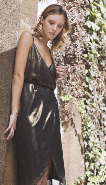 Ava wrap dress