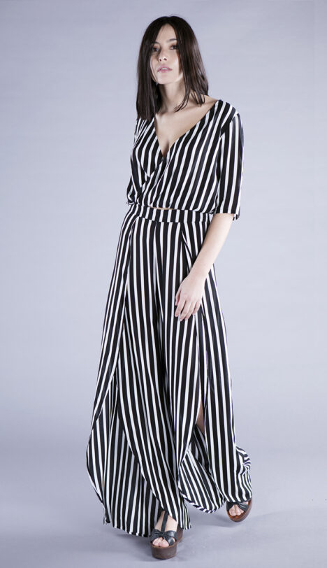 balmy top stripes