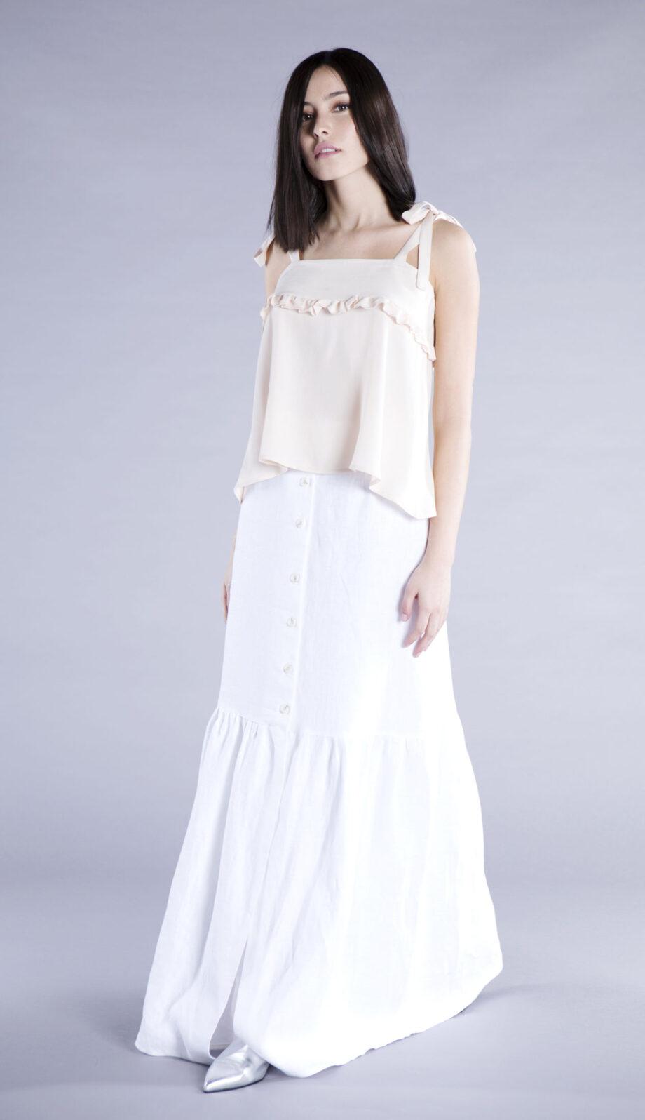 bonita skirt linen