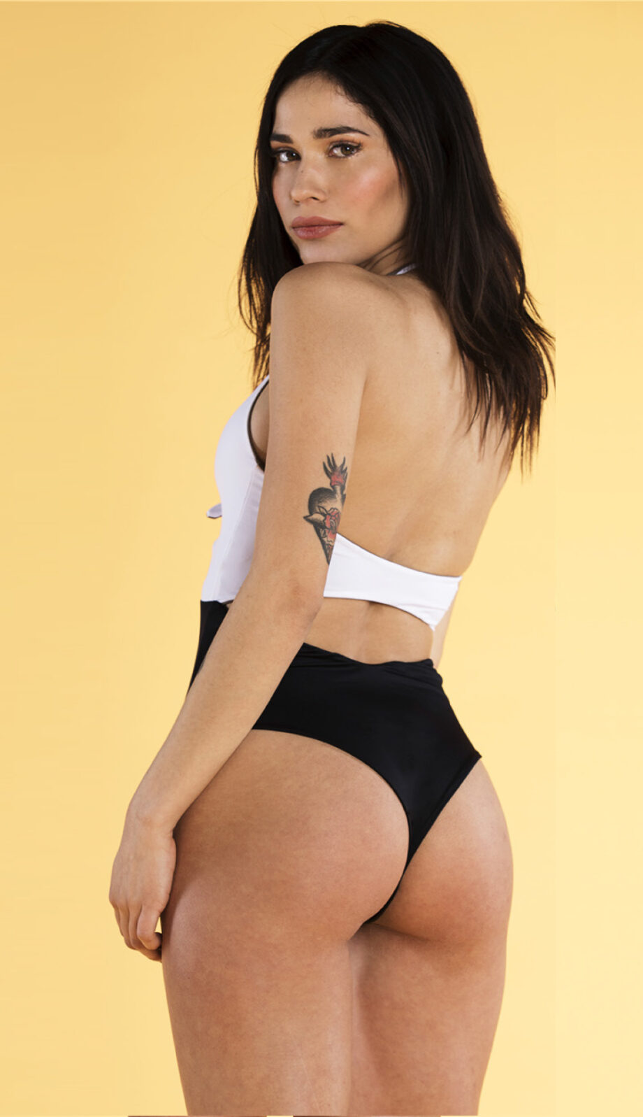 Knotty Swimsuit bw