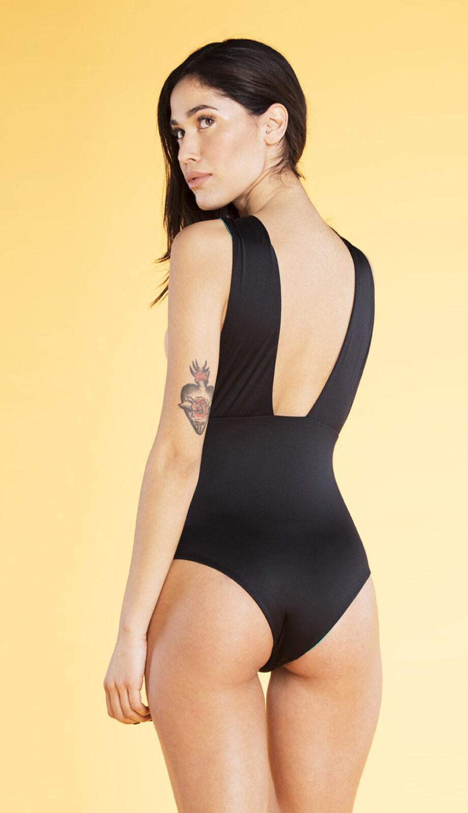 Fantasea Swimsuit black/turquoise