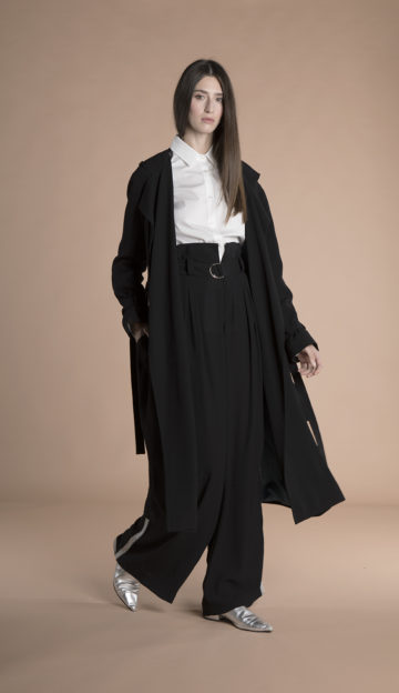 Eva Trench Coat Black