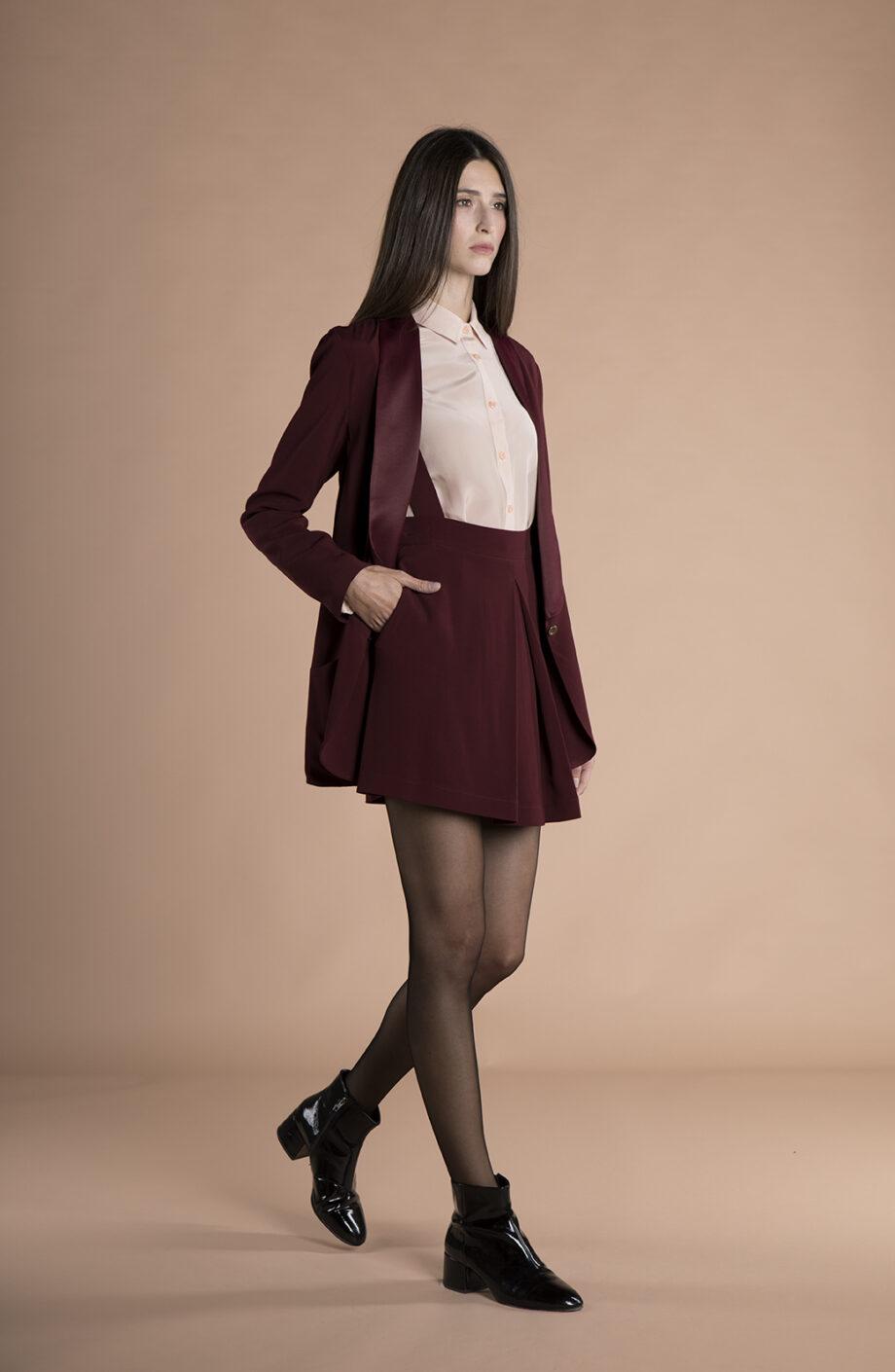 Savana Jacket Burgundy
