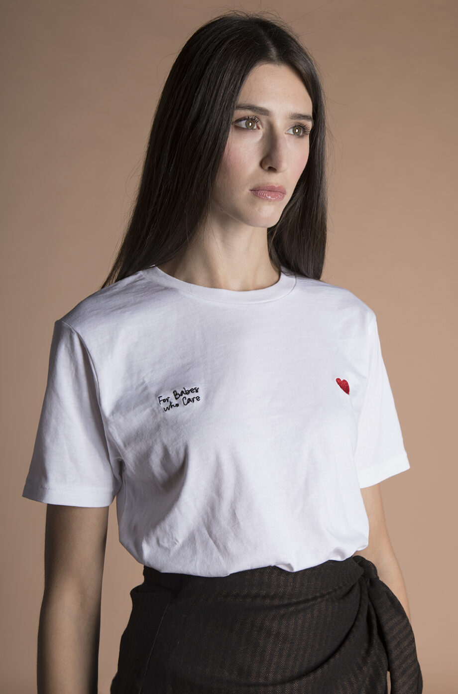 Organic Cotton embroidered Tee