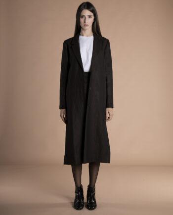 Corinne Long Blazer wool + hemp