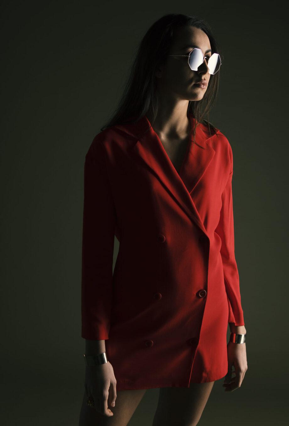 Maika Dress Jacket red