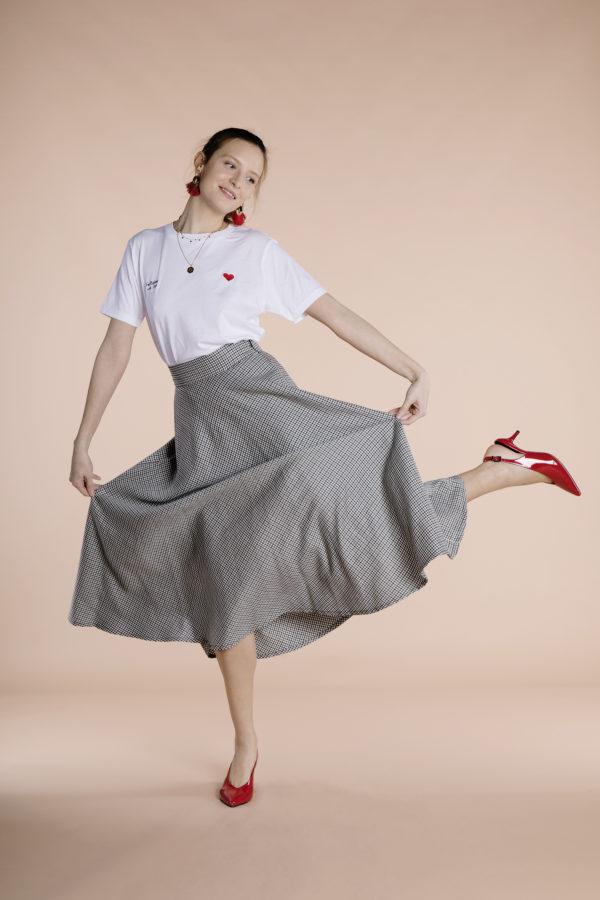 Gina Skirt Checks