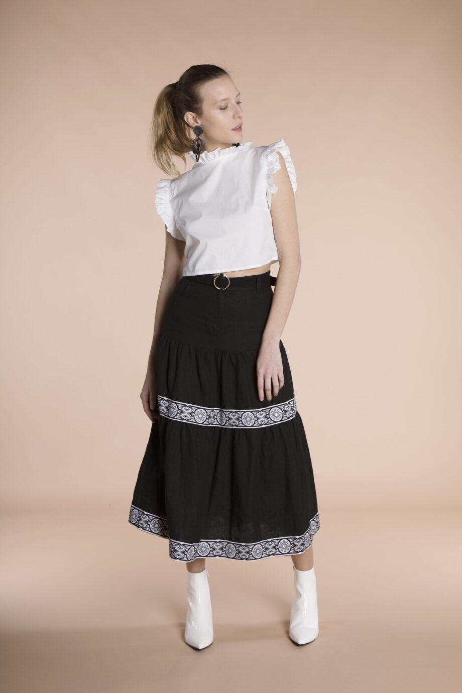 Fefi Skirt Linen
