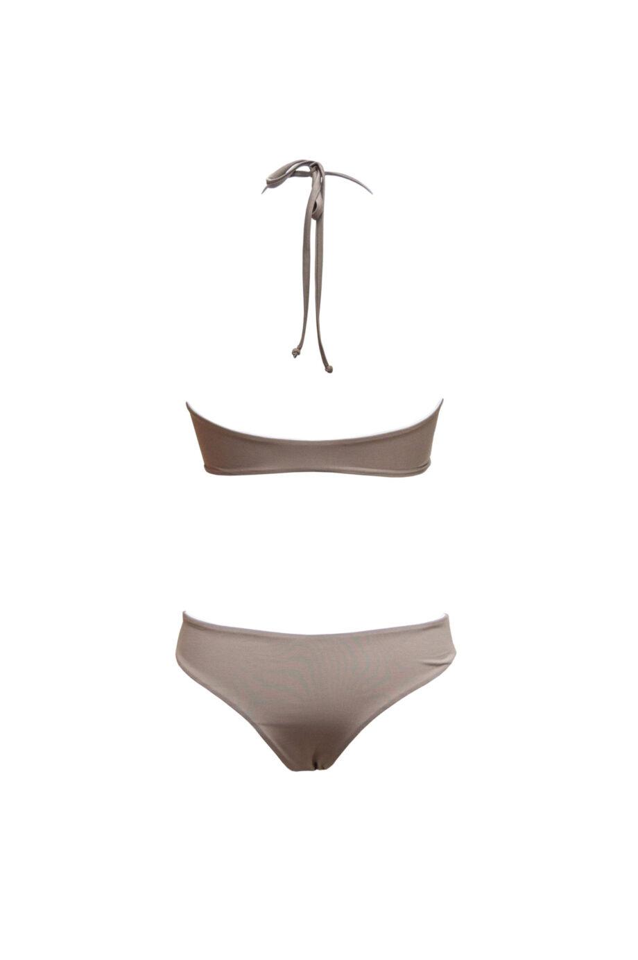 knotty bikini white/taupe