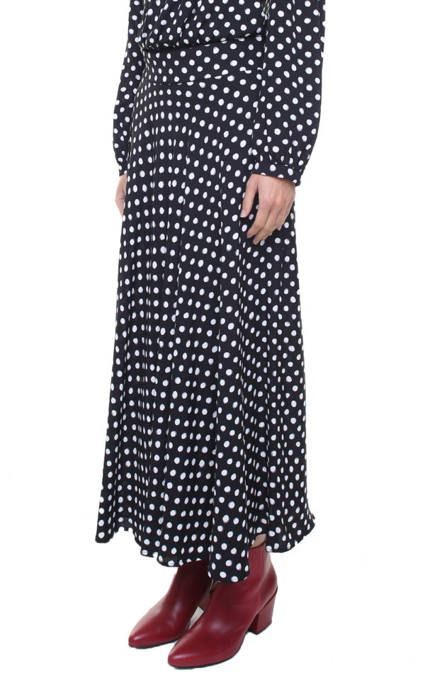 GINA SKIRT DOTS
