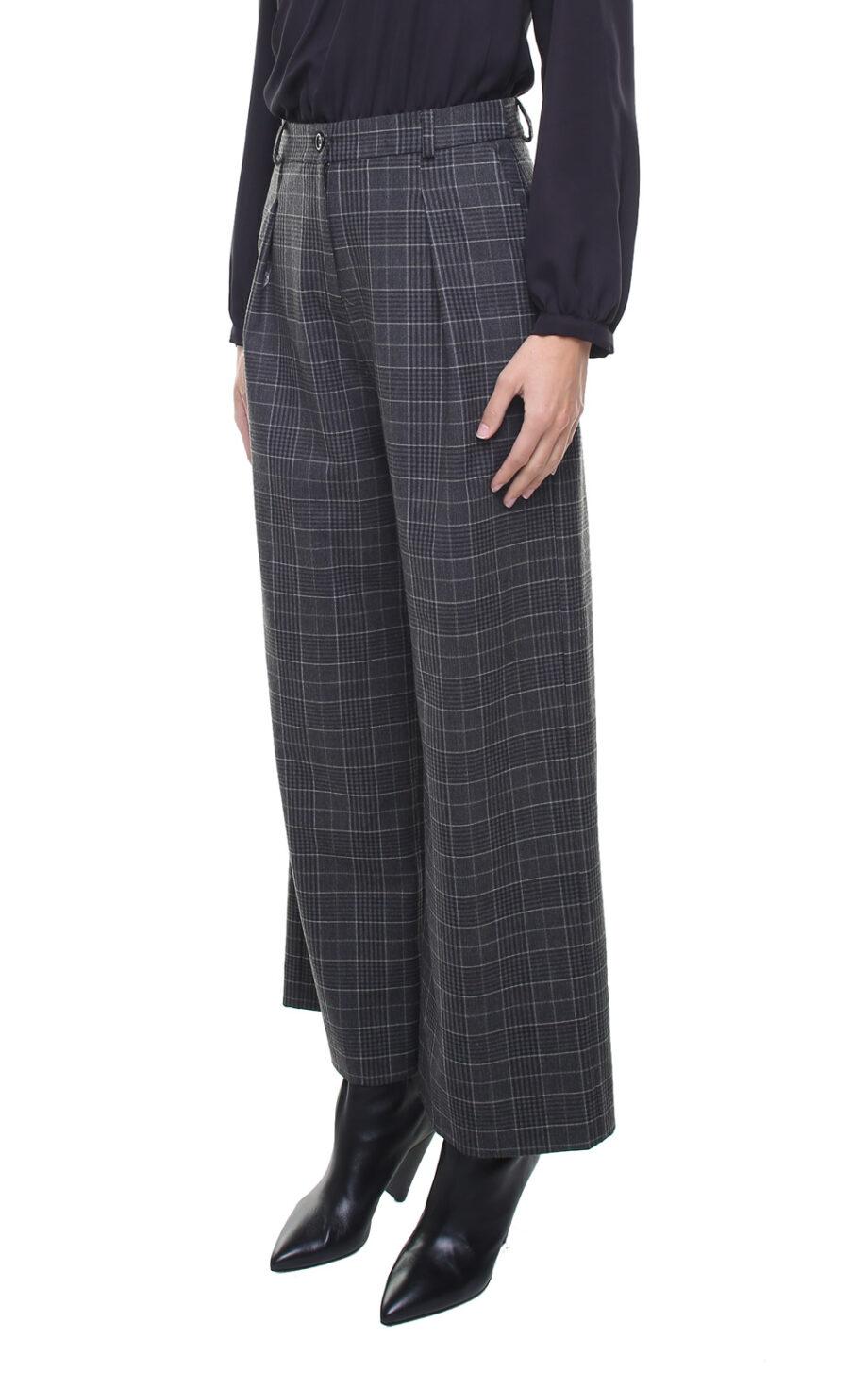 Isabel Pants Grey Checks