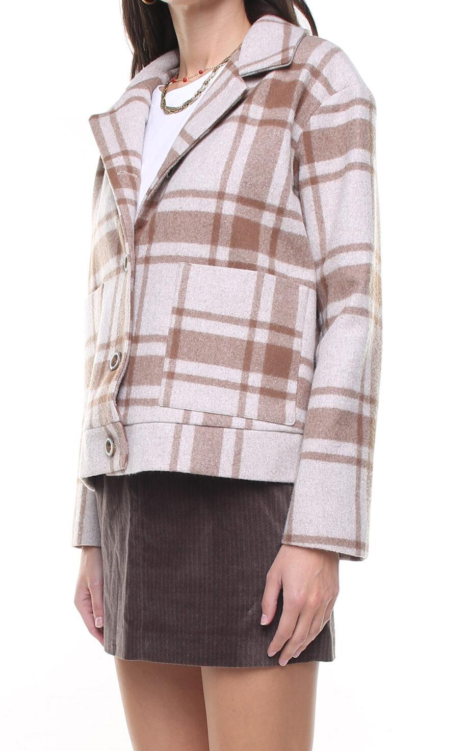 Nikita Melange Jacket Checks