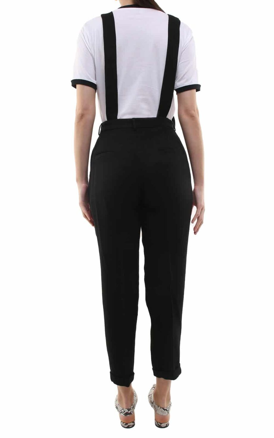 Jane trousers w/ removable suspenders black