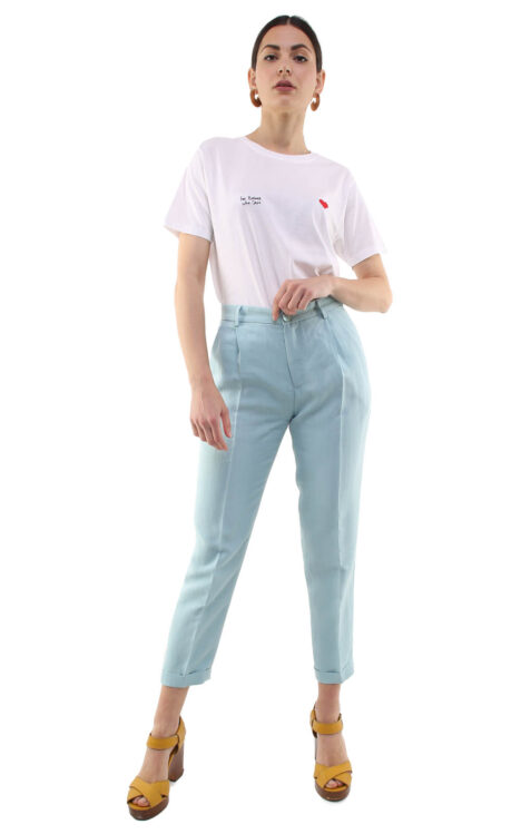 Jane trousers w/ removable suspenders baby blue