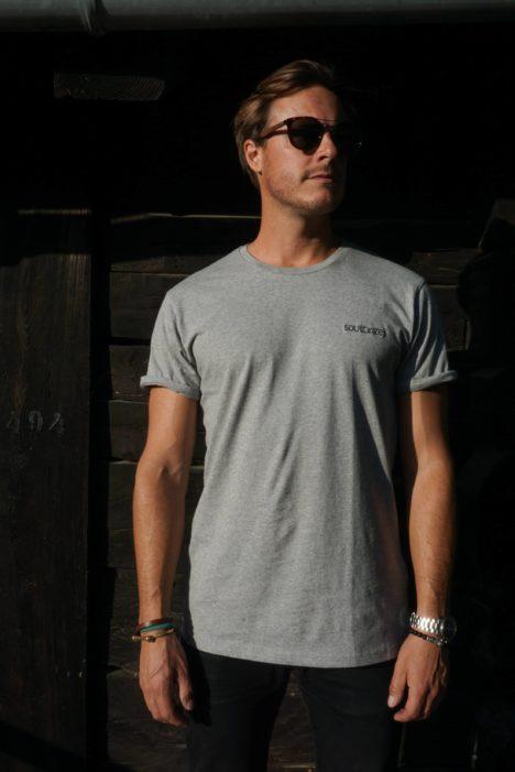 Role T-shirt grey