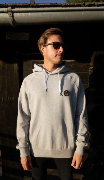 Piña hoodie grey
