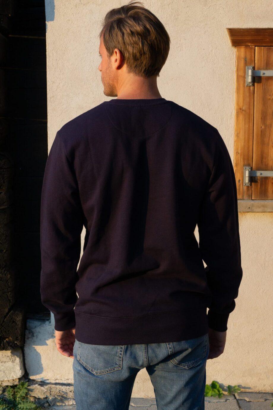 Piña jumper blue