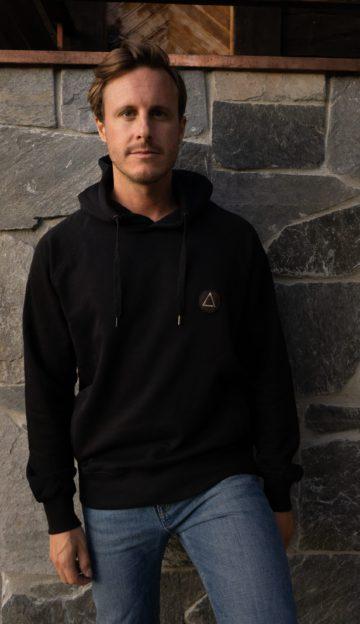 Piña hoodie black