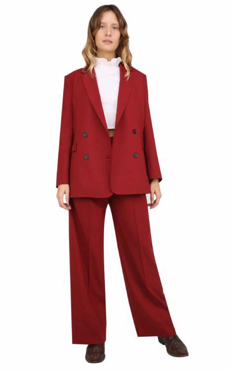 Isabel pants dark Red