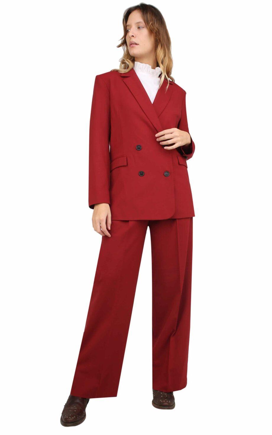 Margot Jacket dark Red