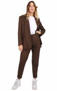 Isabel Jacket Herringbone Wool