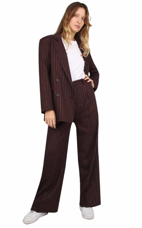Margot Jacket Pinstriped Lurex