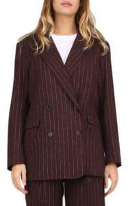 Margot Jacket Pinstriped Lurex