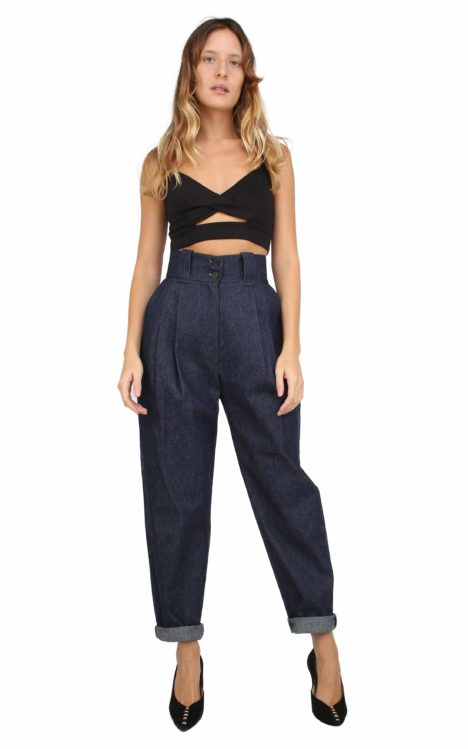 Gilda pants in denim