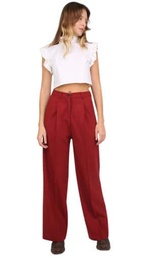 Isabel pants dark Red