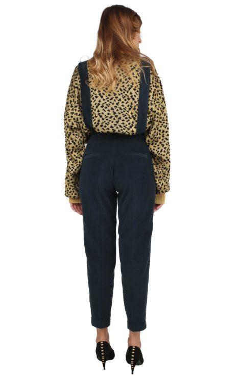 Jane trousers myrtle green corduroy