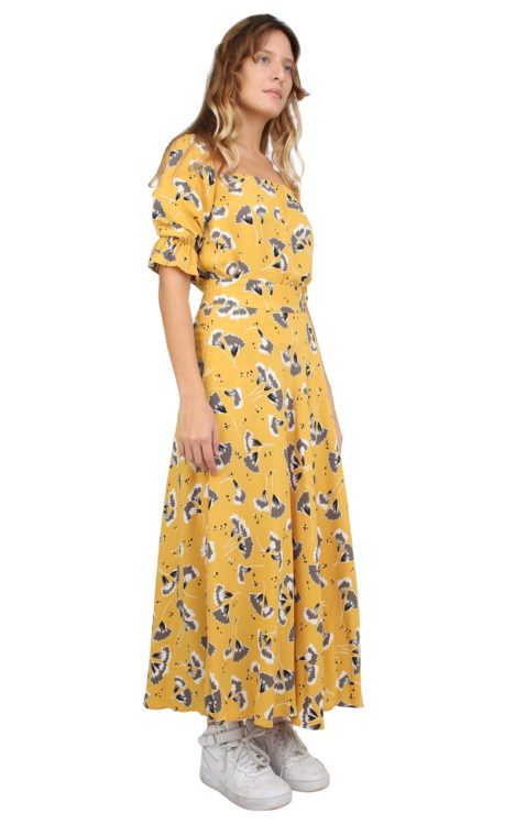 GINA SKIRT YELLOW FLOWERS