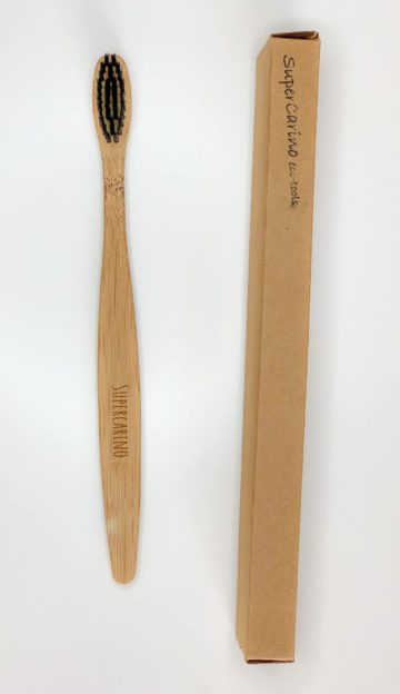 Supercarino Bamboo toothbrush