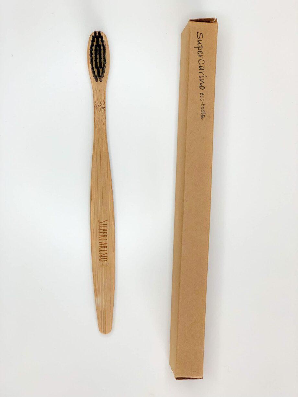 Supercarino Bamboo toothbrush