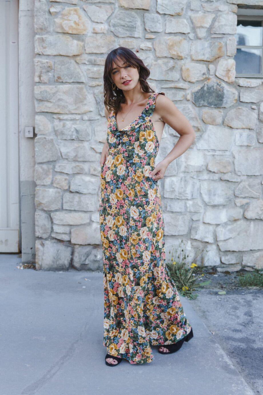 Niki dress flowers