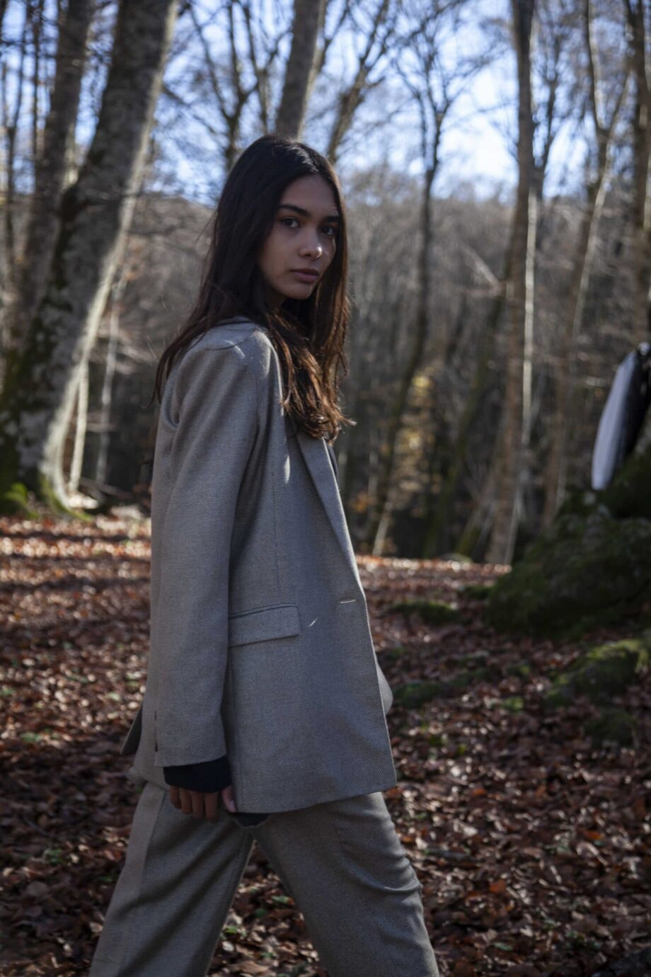 Isabel Jacket wool and silk