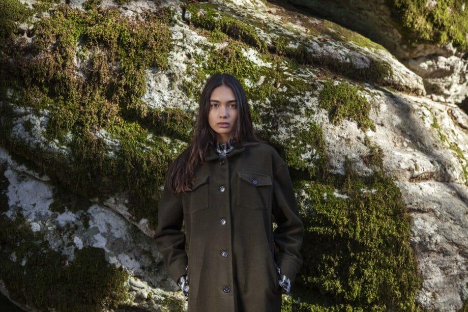 Paulina oversized coat
