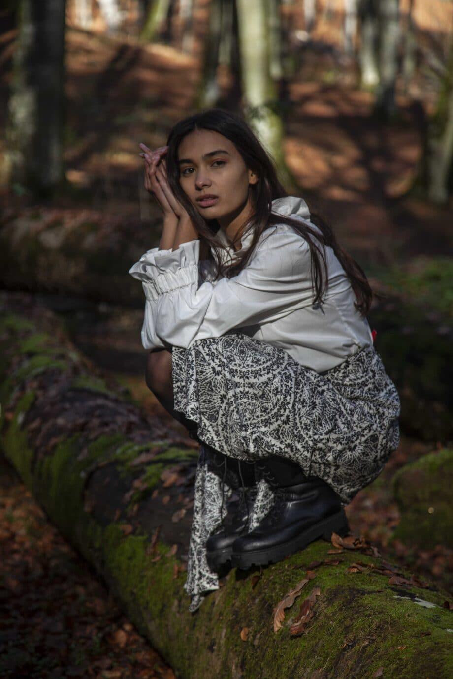 Rocio Skirt print