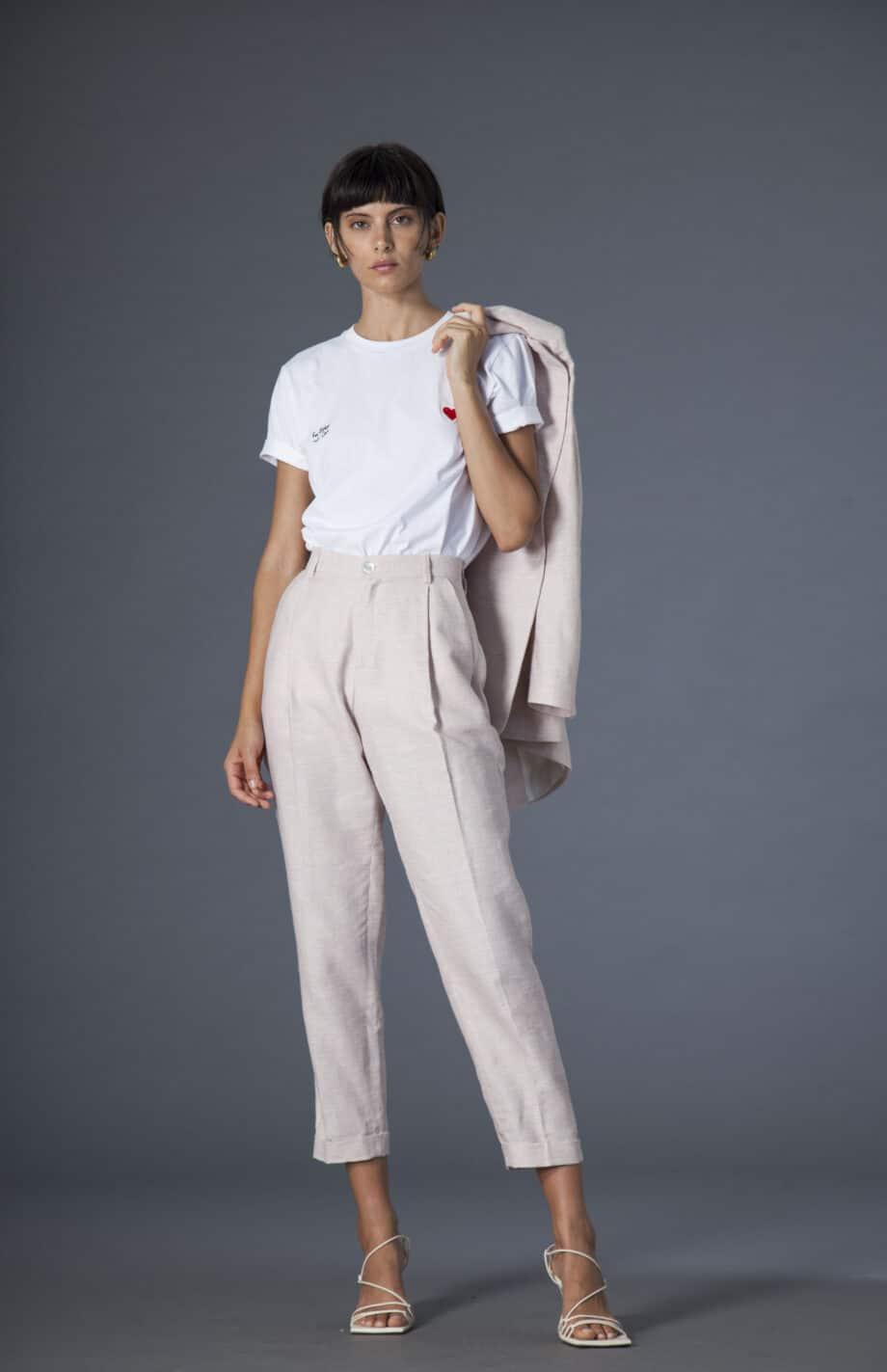 Jane trousers light pink