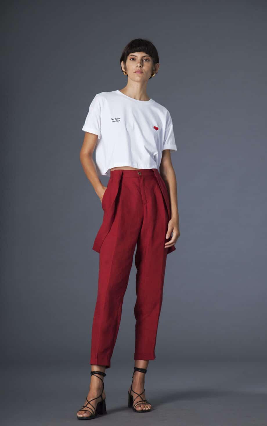 Jane trousers linen
